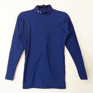 Under Armour Blue Fitted Long Sleeve Top